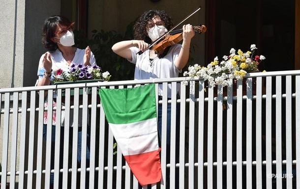 COVID-19: в Італії число хворих падає п'ятий день