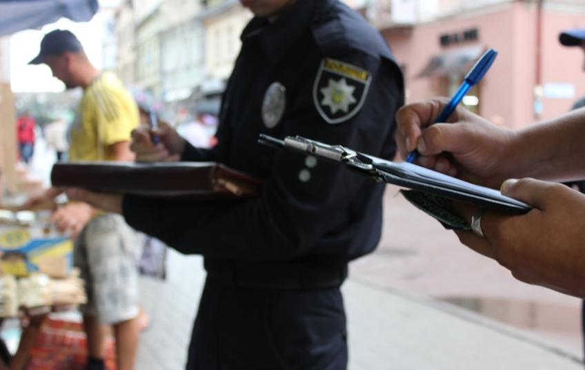 В Івано-Франківську затримали агресивну жебрачку (фото)