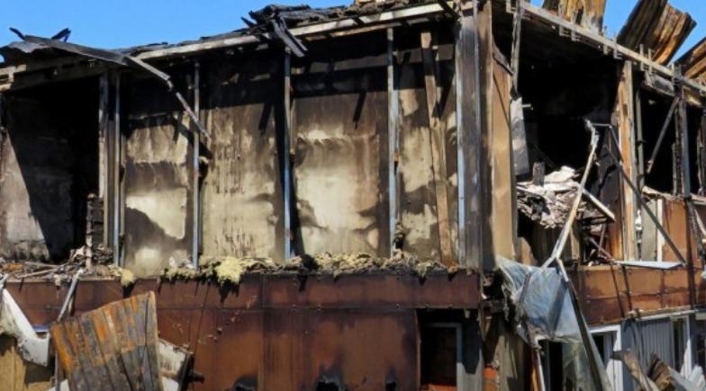 У Польщі майже повністю згорів хостел, в якому проживали українці