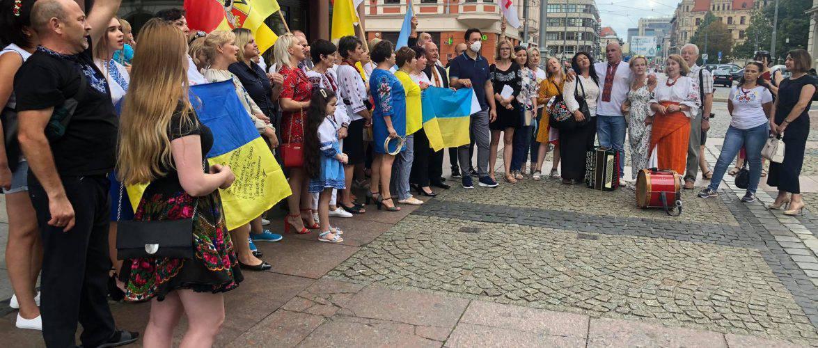 У Польщі українці святкують День Незалежності (ФОТО, ВІДЕО)