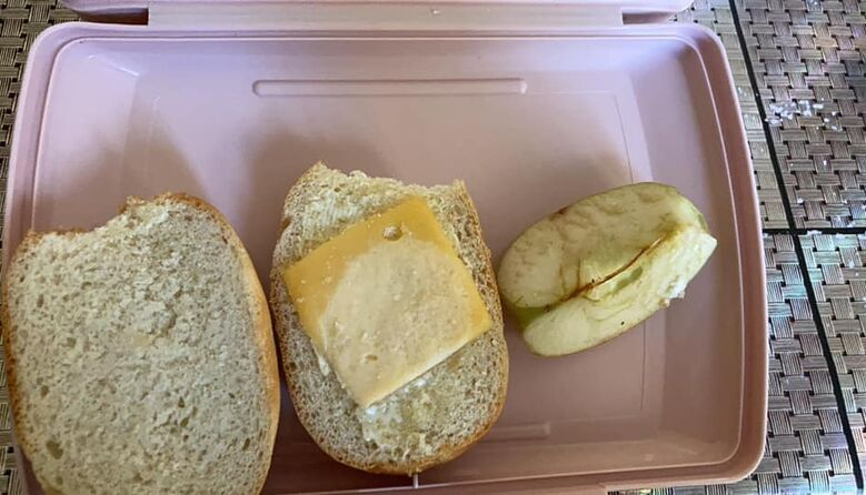 Як не COVID, так гастрит: батьки показали, чим годують дітей у школах під час карантину(фото)