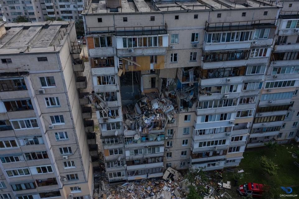Пошкоджений вибухом газу будинок на Позняках знесуть за 14 мільйонів