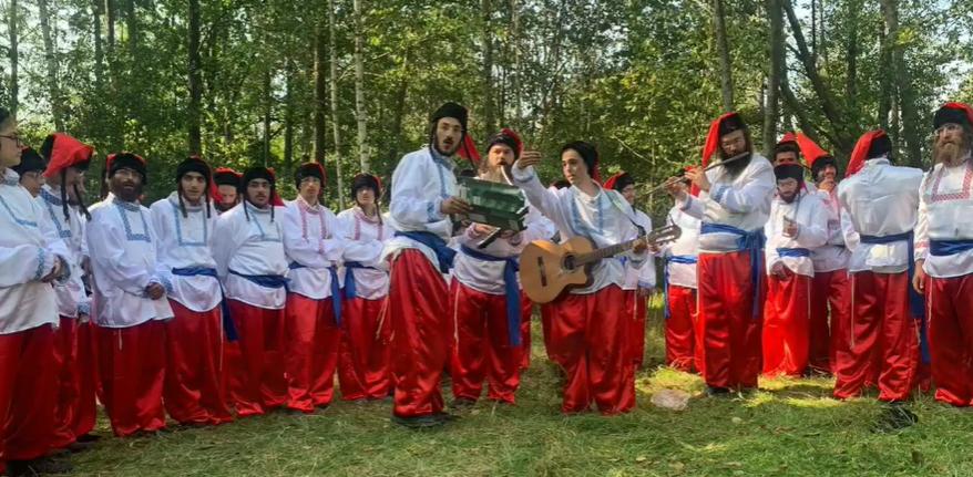 Хасиди заспівали Гімн України на кордоні з Білоруссю. Відео