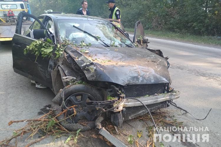 На Тернопільщині жінку внаслідок удару автомобілем розірвало навпіл