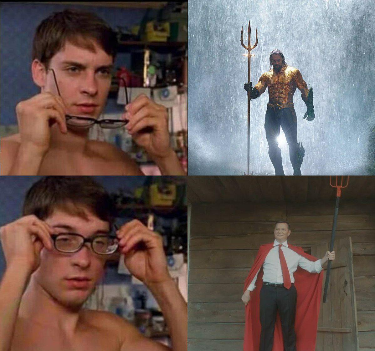 """""""Всіх скотиняк візьмем на мило"""": Ляшко знявся в кліпі у ролі супергероя і став героєм фотожаби"""
