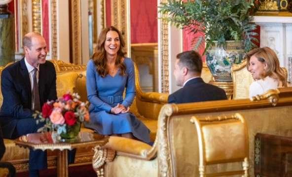 Принц Вільям з дружиною прийняли у Букінгемському палаці подружжя Зеленських