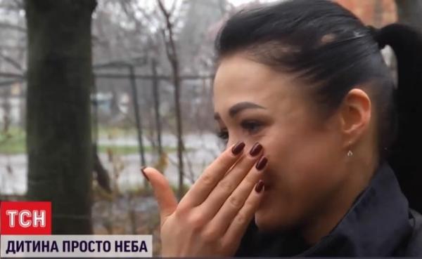 Патрульна з Рівного не стримала сліз, коли розповідала ТСН про дівчинку Альбіну (ФОТО/ВІДЕО)