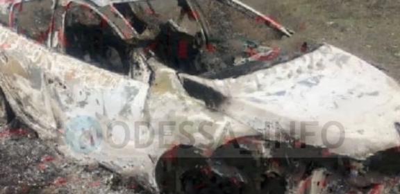 На Одещині жорстоко вбили таксистку: тіло викинули, авто спалили (фото 18+)