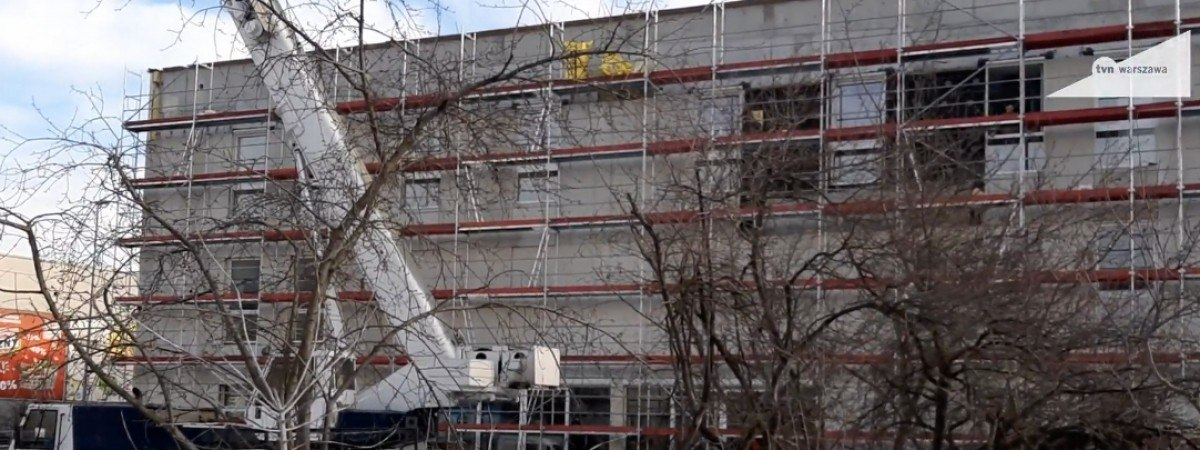 Український робітник впав з шестиметрової висоти на будові в Польщі