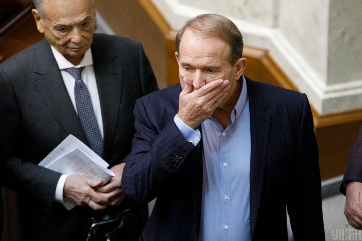 РНБО ввела санкції щодо Медведчука та його дружини (відео)