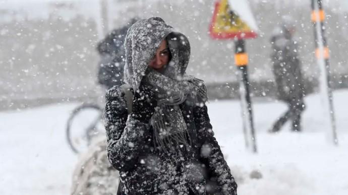 Україну охоплять хуртовини й сильний мороз