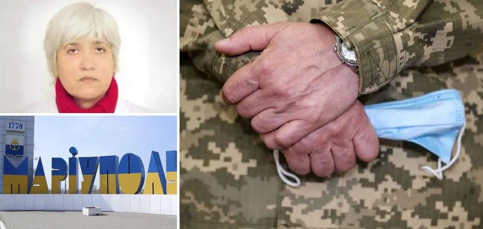 У Маріуполі намагаються зам'яти скандал із лікаркою, яка назвала українського військового вбивцею: нові деталі