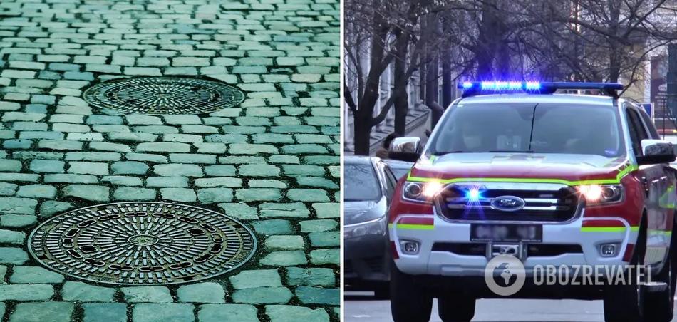 У Львові кришка люка вилетіла з-під коліс авто ДСНС і вбила 10-річного хлопчика