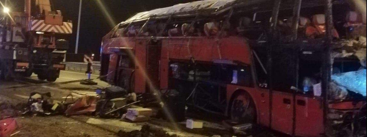Трагічна ДТП українського автобуса в Польщі: одна з пасажирок вижила…завдяки тій аварії