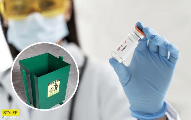 Степанов пояснив, чому вакцини викидають у смітник: це світова практика