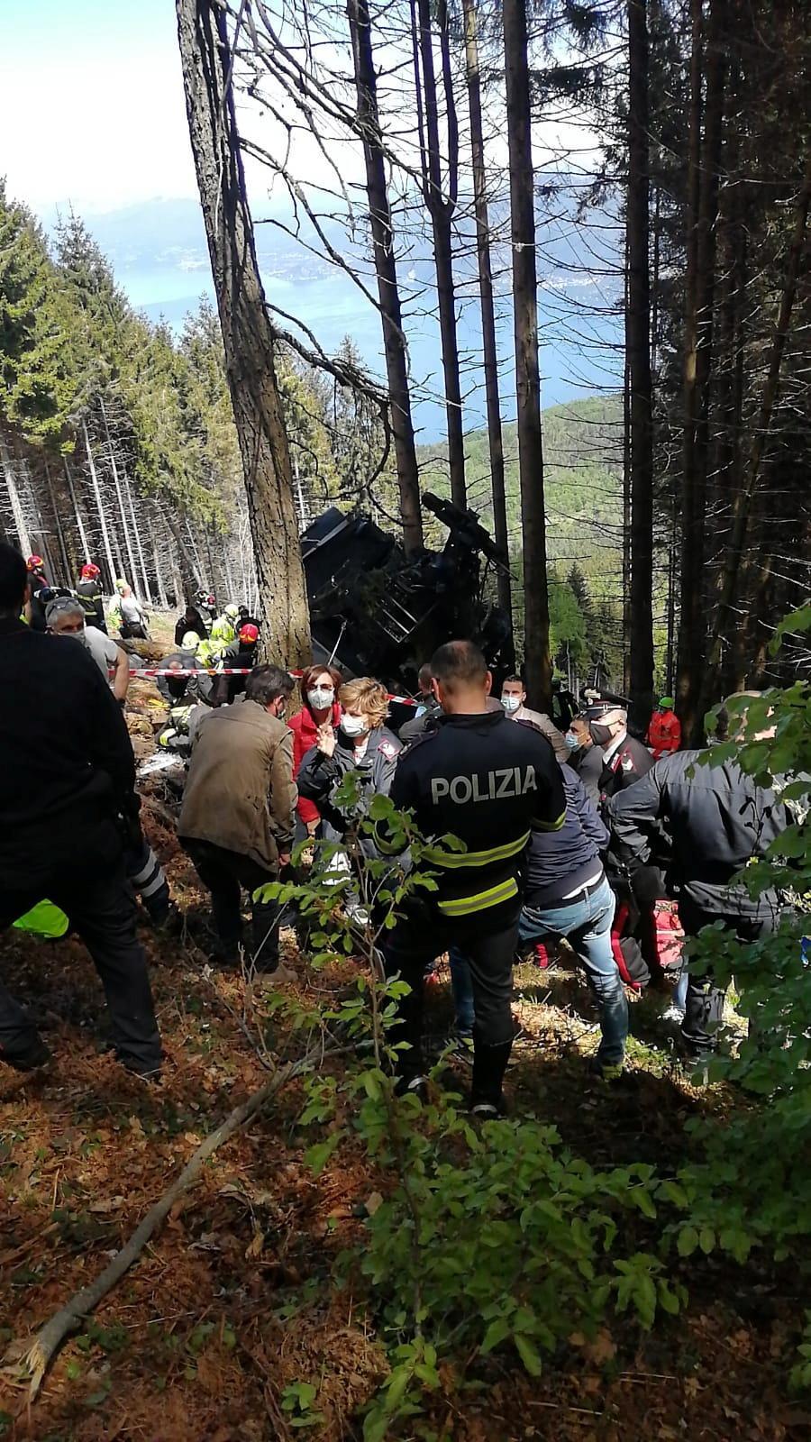 В Італії на канатній дорозі сталася НП: загинули 12 людей (фото) ОНОВЛЕНО
