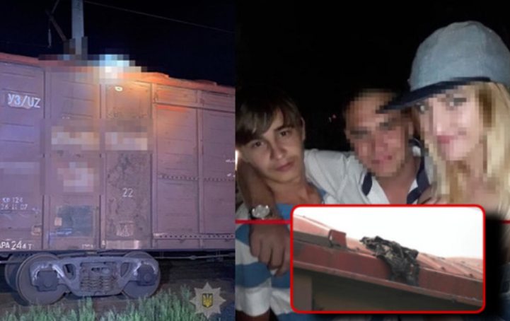 «Хто і за що… він золота дитина»: на даху вантажного вагона живцем згорів студент (ВІДЕО)