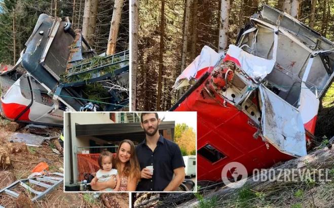 В аварії фунікулера в Італії загинула сім'я ізраїльтян: серед них 2-річний малюк