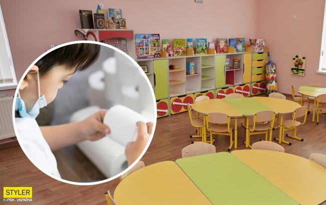 У Запоріжжі розгорівся скандал у дитсадку: дитині заборонили користуватися туалетним папіром