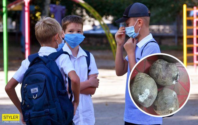 У школах Миколаєва вибухнув скандал: дітям підсовували запліснявілі продукти