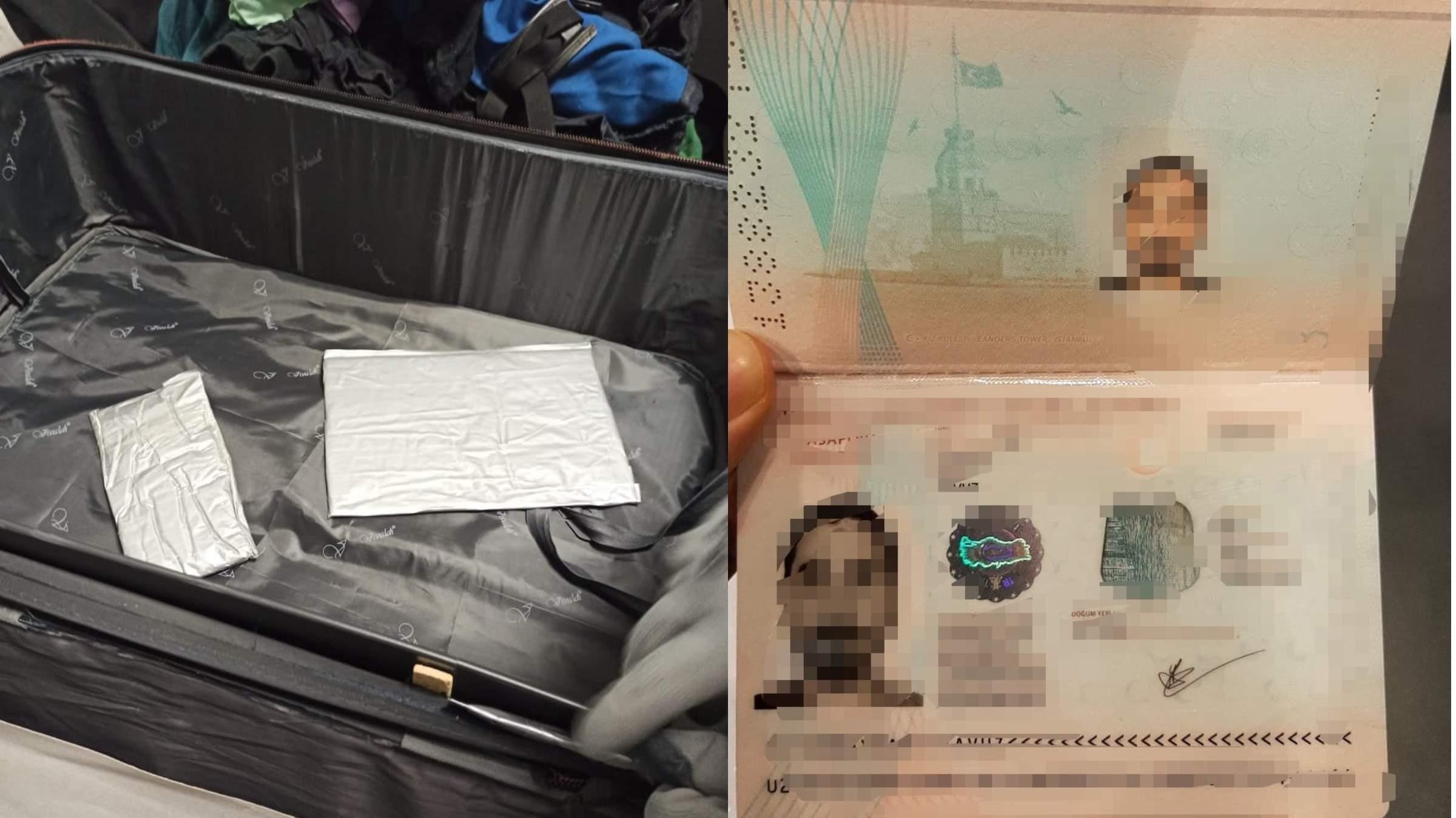 """Прилетів до """"стоматолога"""": турок хотів нелегально завезти в Україну майже 3 кілограми кокаїну"""