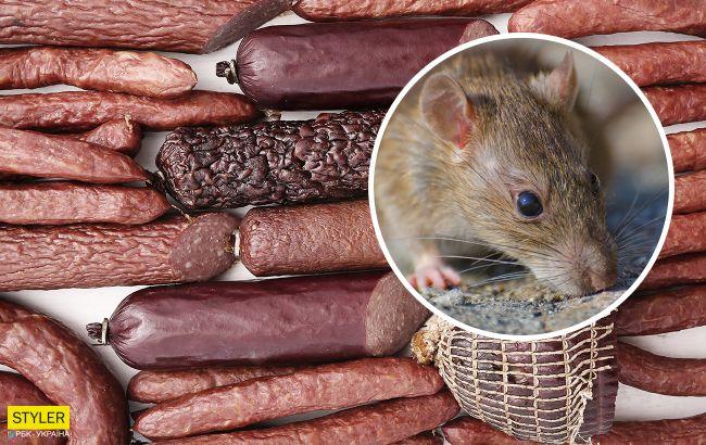 У Житомирі військовий купив ковбасу з щурячим хвостом: розгорається скандал