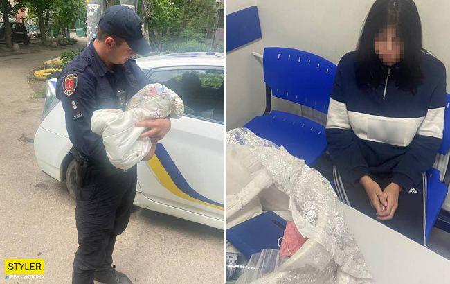 """В Одесі п'яна в устілку мати з немовлям на руках падала на вулиці: малюка забрала """"швидка"""""""