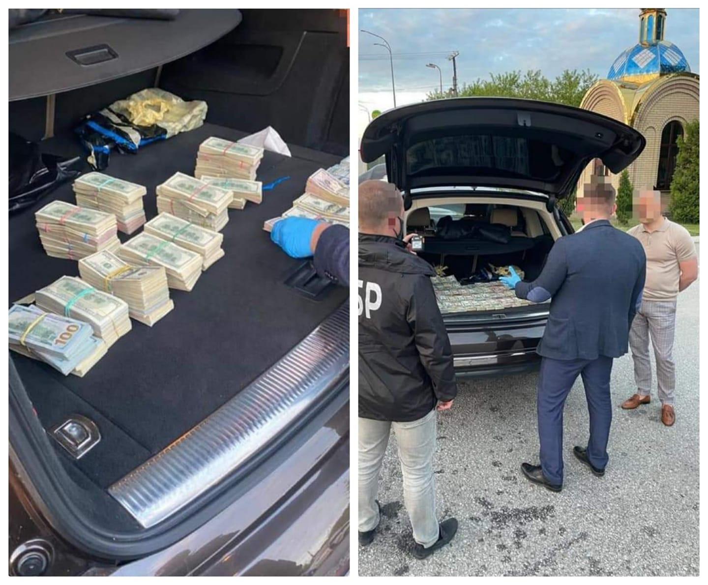 З автомобіля волинського митника вилучили 700 тисяч доларів США (фото)