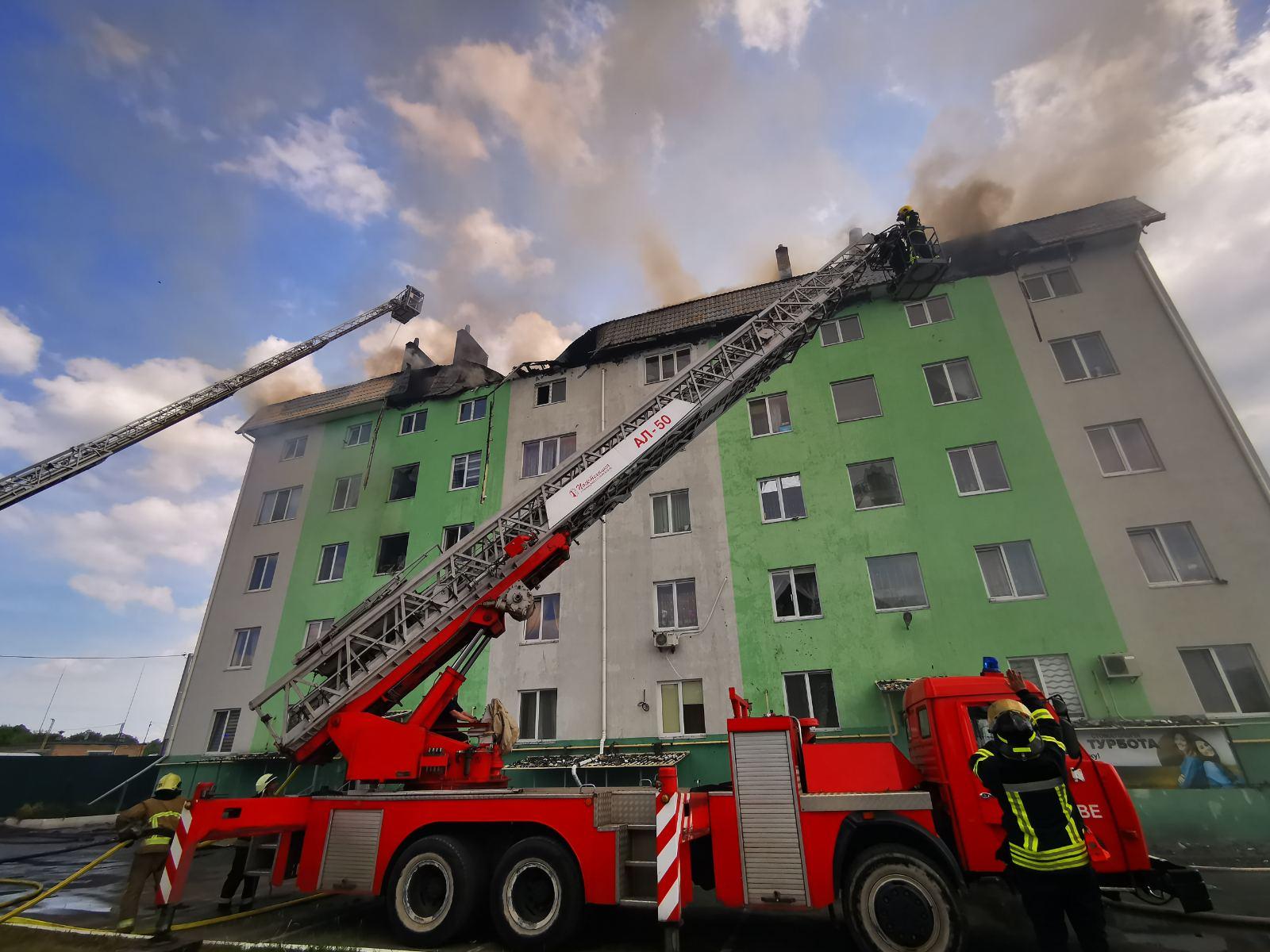 Під Києвом стався вибух у багатоповерхівці. Вигоріли 7 квартир