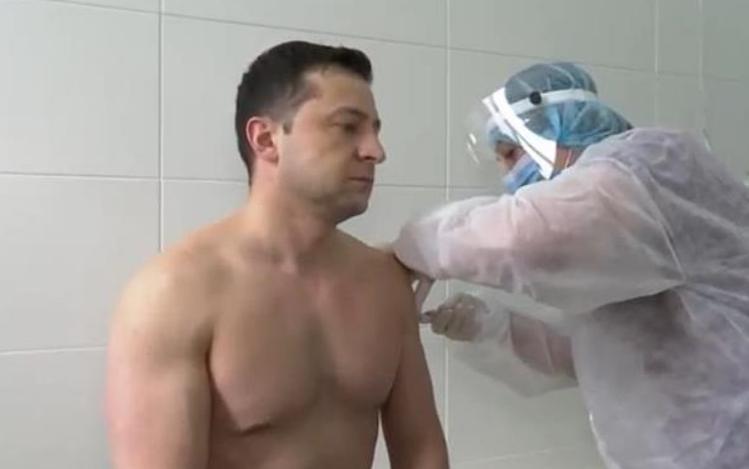 Зеленський отримав другу дозу COVID-вакцини