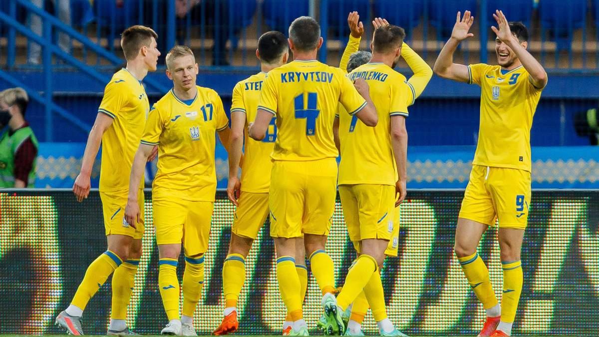 Україна перемогла Швецію та вперше в історії пройшла в 1/4 Чемпіонату Європи
