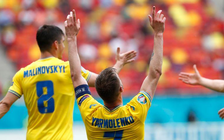 Збірна України з 3 місця вийшла у 1/8 фіналу Євро-2020