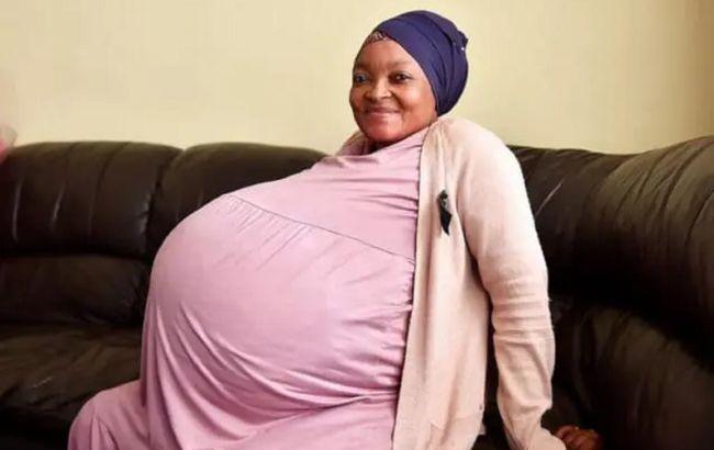 37-річна жінка з ПАР народила відразу 10 дітей: встановила світовий рекорд