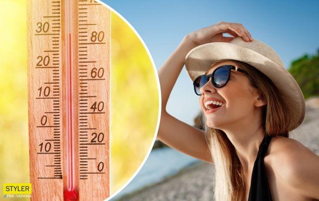 В Україну йде сильна спека