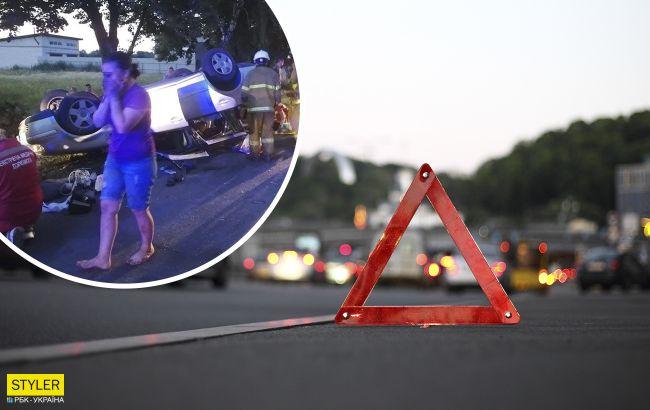 Смертельна ДТП під Борисполем: семеро дітей сиділи в багажнику легковика