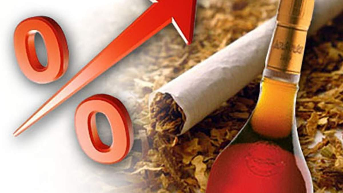 В Україні різко зросли ціни на алкоголь та сигарети