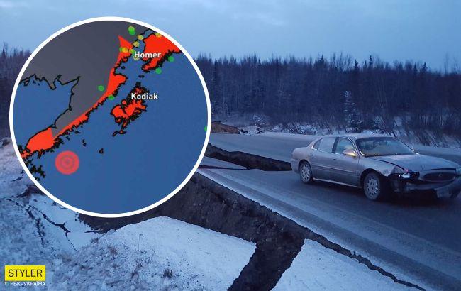 Землетрус року: з'явилося відео божевільної тряски на Алясці