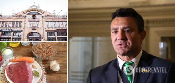 Гречка по 12 грн за кілограм, а яловичина – по 50: Тищенко здивував заявою про ціни на продукти в Україні. Відео